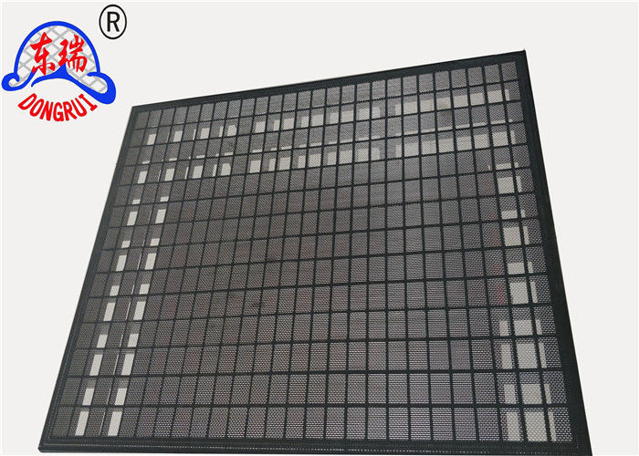 High Strength Mongoose Shaker Screens / Screens Brandt Shaker 90% ~ 95% Filter Rating
